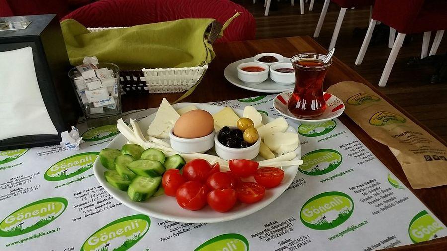 Kahvalti Breakfast Cheese çay Cumartesi Mesaiyedevam:-( Haftasonunu