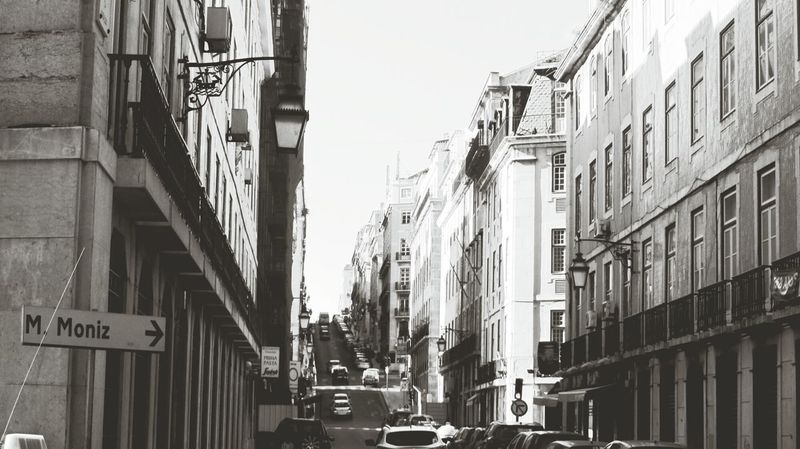 The Streets os Lisbon Martin Moniz :-) My Monochrome World Monochrome _ Collection Eyeem Monochrome Streetphotography In Lisbon, Portugal