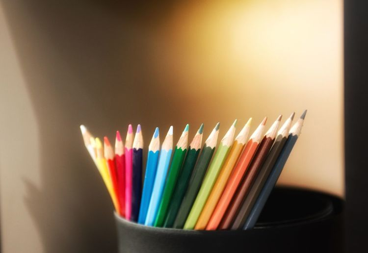 Pastiche pastels Colouring Pencils Colouring  Multi Colored Large Group Of Objects Indoors  Pencil No People Variation Writing Instrument Close-up Art And Craft Colored Pencil