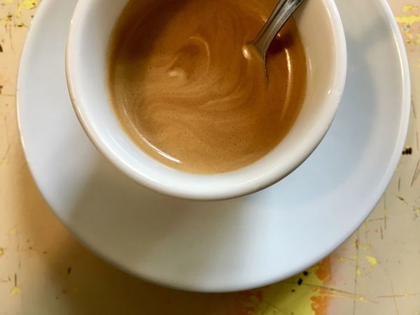 Espresso Cappuccino Close-up Coffee Coffee - Drink Coffee Cup Crockery Cup Drink Food And Drink Freshness Frothy Drink High Angle View Hot Drink Indoors  Mug No People Refreshment Saucer Still Life Table