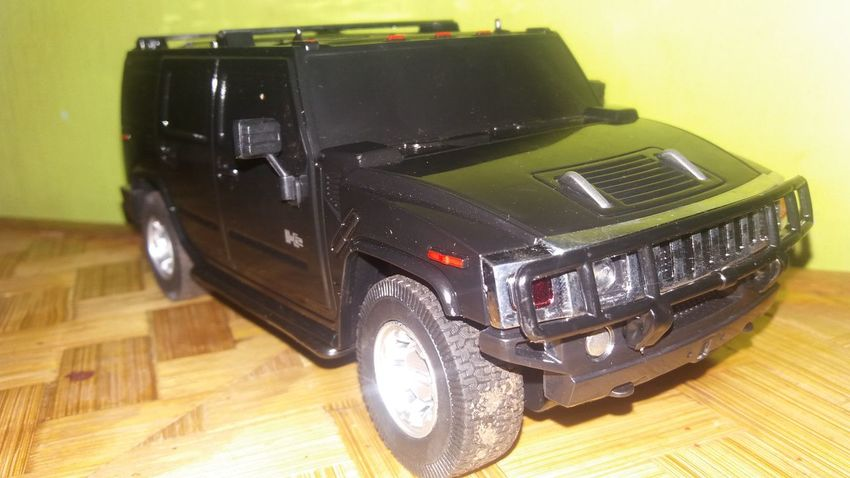 Toy Car Goodnight Taking Photos Hummer H2 ToyCar
