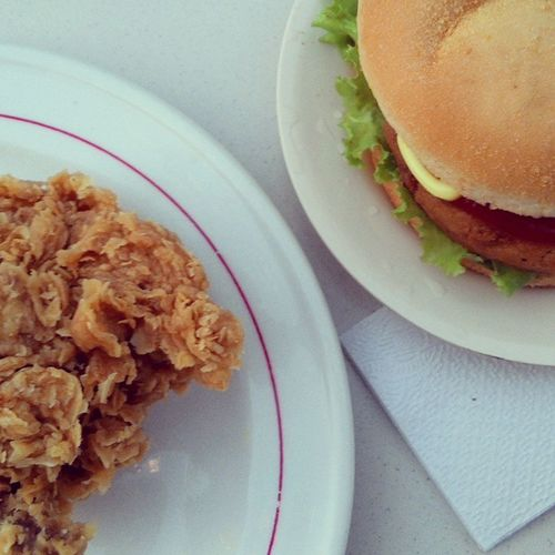 Big Bites Burger Friedchicken MisterBurger Yogyakarta food foodporn fastfood Sunday indonesia
