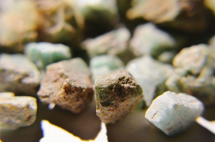 Emerald Emerald Unpolished Close-up Emeraldgreen Precious Stones Smaragd Green Smaragd No People Full Frame