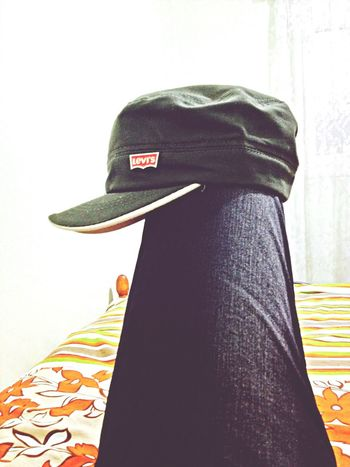 Hat my Bed Levi's Taking Photos