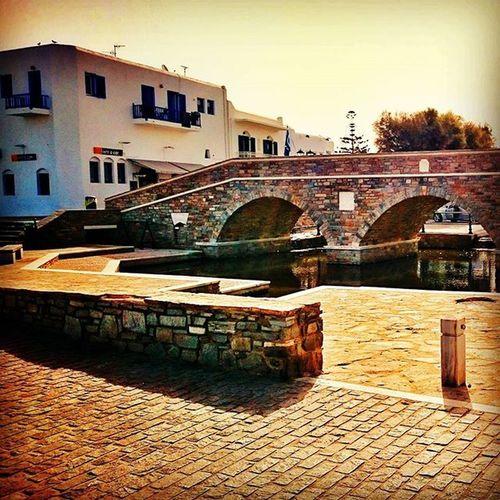 NAOUSSA. BRIDGE. CITYCENTER Naoussa Paros Paro Greece2015 Greecestagram Greece Summer Picoftheday Photoofgreece Photooftheday Bridge View Views Cyclades_islands Cyclades Citycenter Enjoy