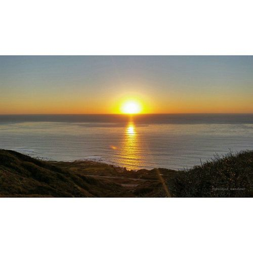 Some socal sunset and frigid cold ocean for my gallery Howtosandiego Stepswiftly Socalhiker