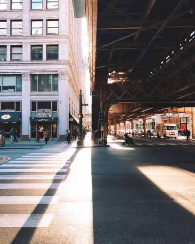 Morning light Architecture City No People Day Cityscape Street Photography Architecture City Chicago Loop