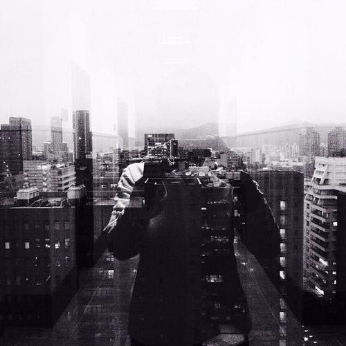 Days  Hipstamatic My City Monochrome Reflection