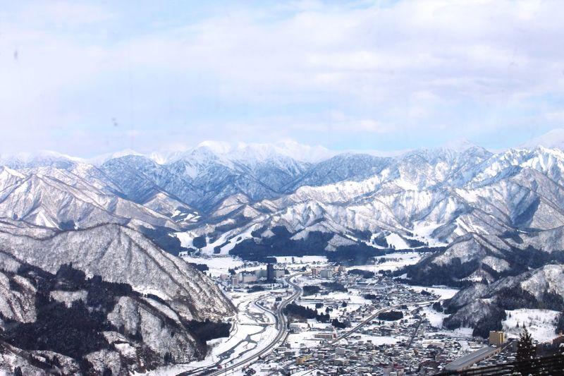 Winter Snow Beauty In Nature Ski Mountain Tranquil Scene Mountain Range