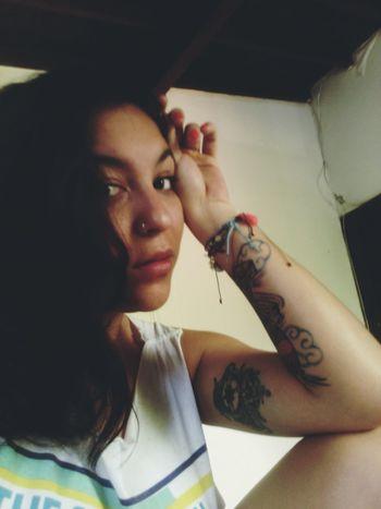 Relaxing Girl Piercing Tattoedgirl Tattoo Tattoos Tattooedgirls
