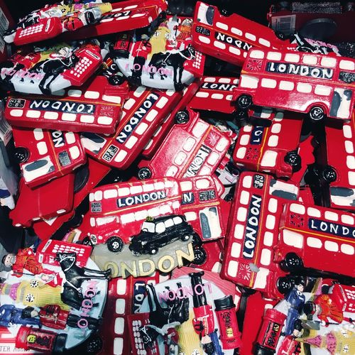 Bus Gift Lifestyles London Multi Colored Red Souvenier Tourism Transportation Travel Destinations EyeEm LOST IN London
