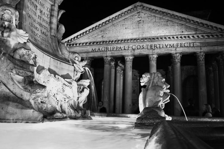 Pantheon, Rome, Italy Black & White Italia Italian Landscape Pantheon Roma Rome Tourist Attraction  Art Art History Arts Culture And Entertainment Black And White Blackandwhite Blackandwhite Photography Capital Capital Cities  Capital City History History Architecture Italian Landscapes Italy Roman Empire Tourism Destination Tourist Destination Travel Destination Travel Destinations Your Ticket To Europe The Architect - 2018 EyeEm Awards The Traveler - 2018 EyeEm Awards