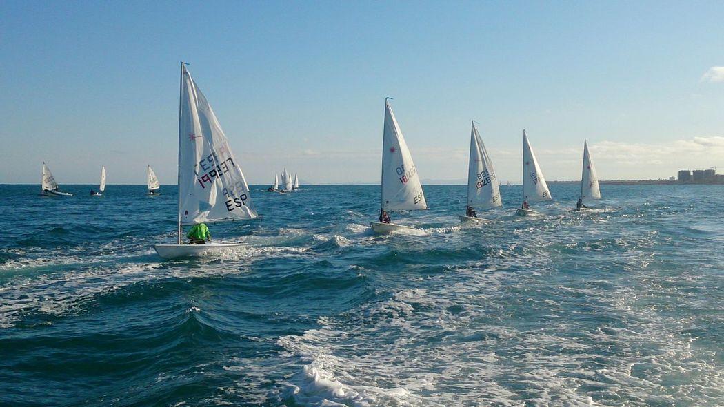 Sailboats Vela Torrevieja Mediterranean  Sailboat Sailing
