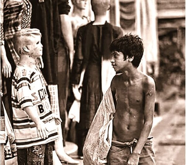 """""""The one with no life has clothes to wear. Me, the one with life has no clothes to wear or change"""". This really touched my soul."""