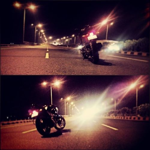Highway Nh8 Middle Track YAMAHA fz night
