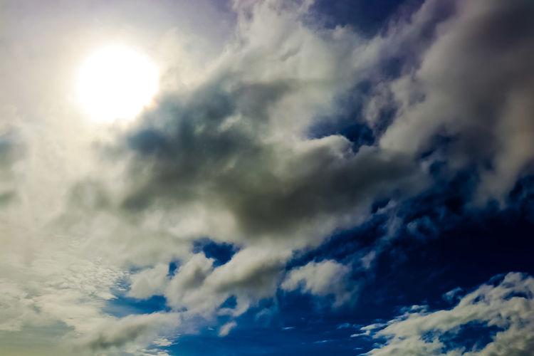 clouds angel