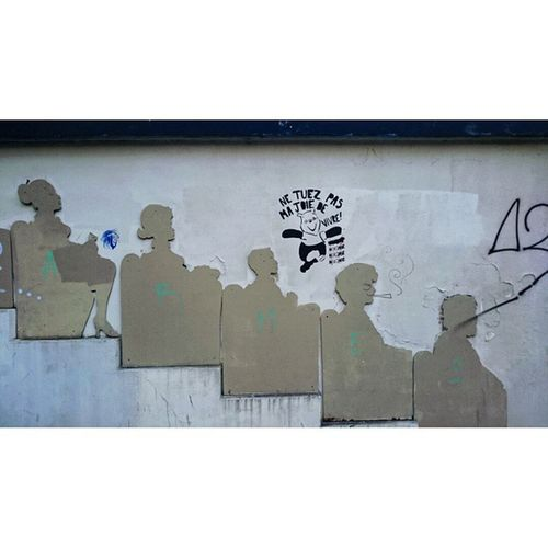 Netuezpasmajoiedevivre Paris Mouffetardstreet Streetart