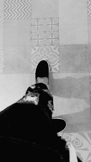 Thats Me  My Foot Light And Shadow Snapshots Of Life Walking Around Enjoying Life Untold Stories Taking Photos My Legs My Shoes Alone Blackandwhite