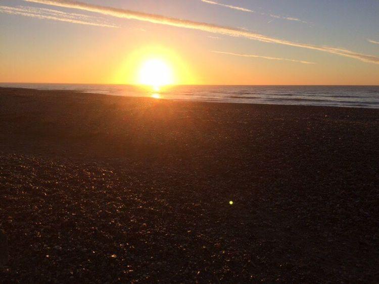 Sunrise over Worthing
