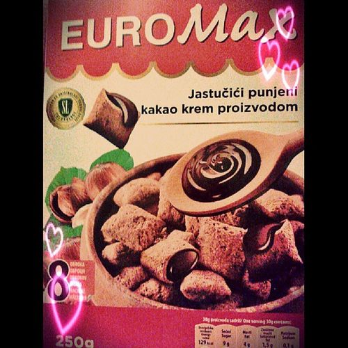Tiny chocolate orgasms. Eurokrem Swisslion Novisad Happiness