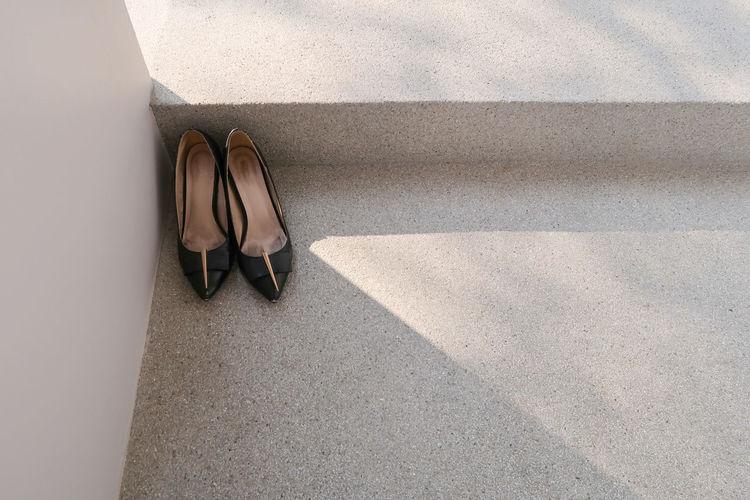 Old high-heeled