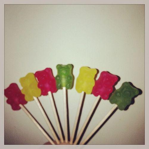 ???Mogul Ositos Bears Red yellow green yummy addict