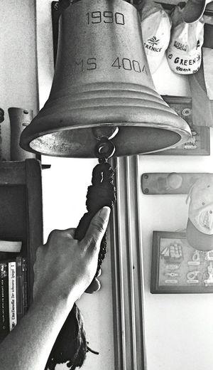 Campana Black And White Monochrome Minimalism_bw Hand Bell
