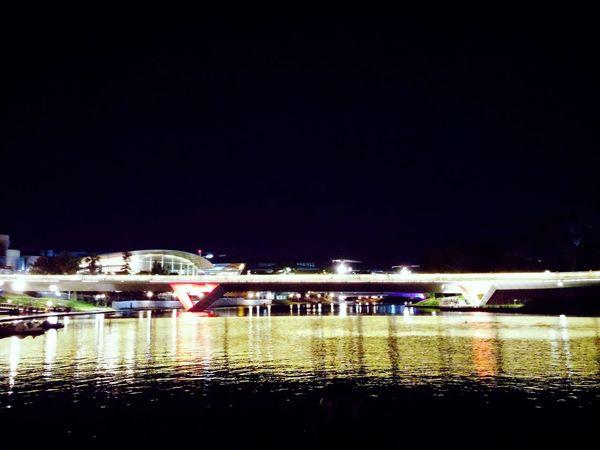 Torrens river by night. First Eyeem Photo Adelaide, South Australia River Torrens Night LG G3