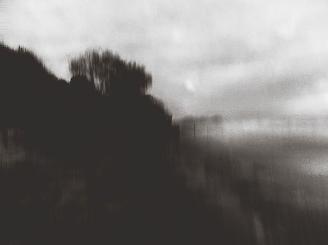 Headlands in deep shadow / conjure past scenarios / imagination NEM Submissions Dreaming Lost In Space...