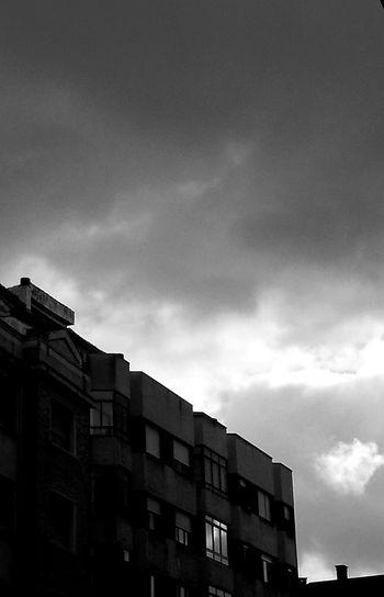 Building Exterior Architecture Sky Built Structure Cloud - Sky City No People Buildings And More Buildings Day Minimalist Architecture Photos Dark City Streets Dark City Sky Blacknwhitecity Blackandwhitephotography City View  Black & White Dark Photography Dark And Dismal Dismaland® Dismal Places Dismal_disciples Beauty Architecture Edificios Y Más Edificios Solo Edificios