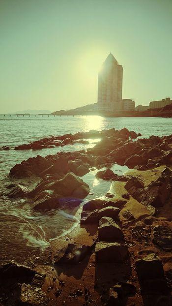 The EyeEm Facebook Cover Challenge Qingdao sea