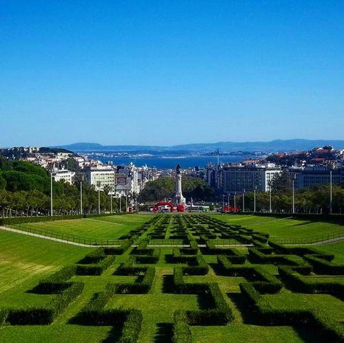 Portugal Lisbon Dream View Memories Park Castelodesaojorge Marquesofpombal Square Sea Colorful City Sunny Bluesky Mood Instamood VSCO Vscocam