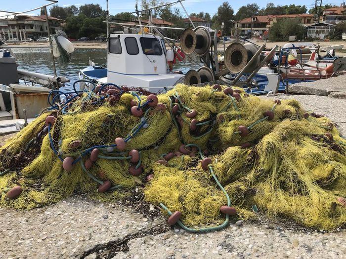 Fishing net in