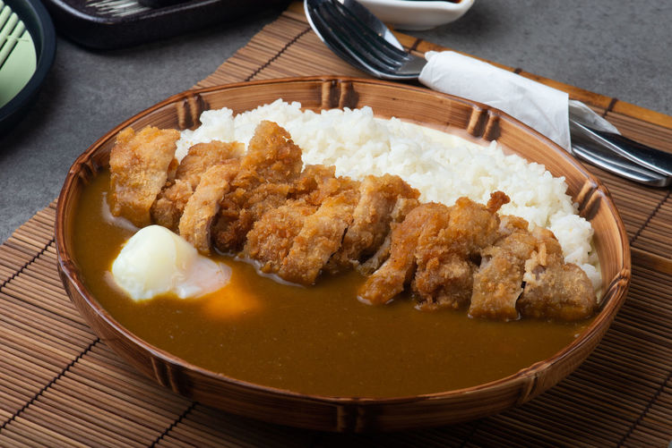 Curry Japanese Curry Food Food And Drink Freshness Indoors  Kitchen Utensil Meal No People Plate Ready-to-eat Table