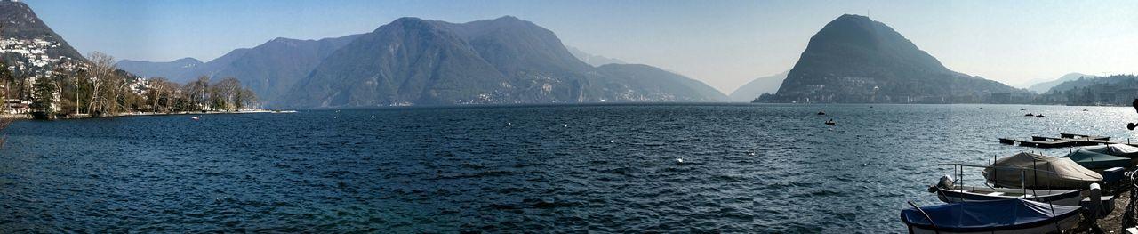 Lago Di Lugano  Landscape_Collection Panorama Lake View
