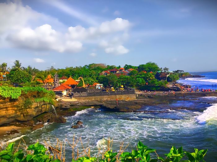 Tanahlot Bali Water Sky Cloud - Sky Outdoors Day River Beauty In Nature Nature