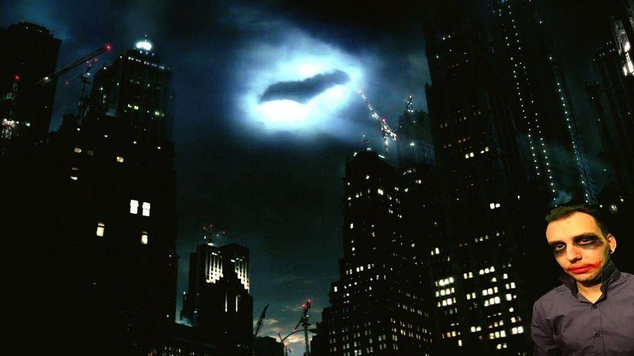 Joker Gotham Come Batsy DC DC Comics Gotham City City One Person Cityscape Night Burn Gotham Burn