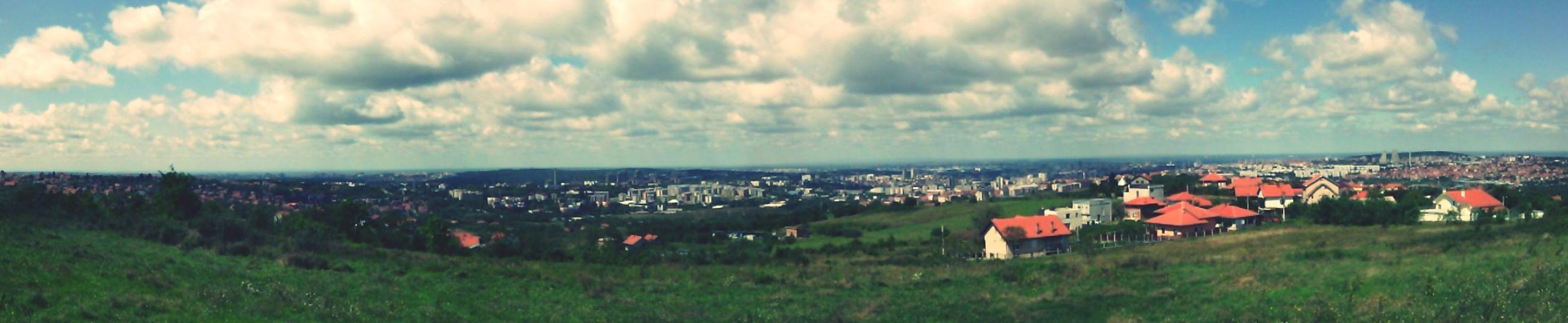 Relaxing Enjoing The View Belgrade beograd sa visine :)