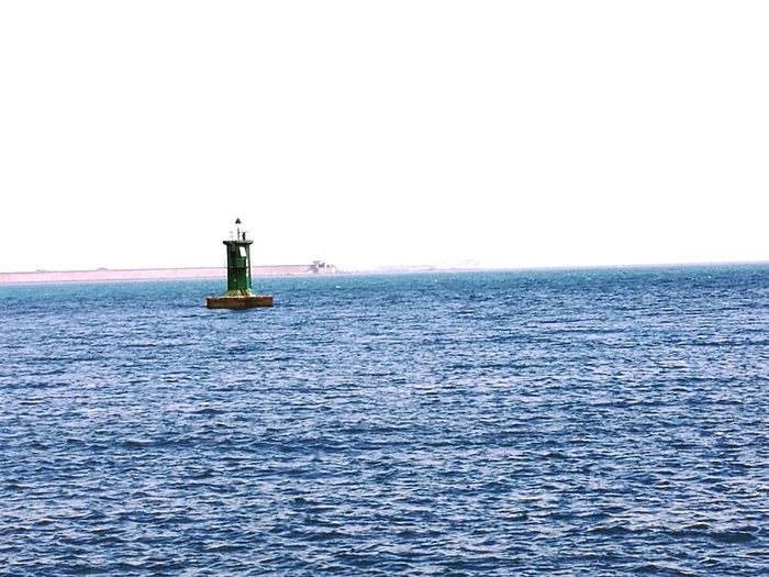 Open see Horizon Over Water Travel Destinations Beauty In Nature Lighthouse No People Water Day Sea Outdoors Sommergefühle Gijon_asturias Sky