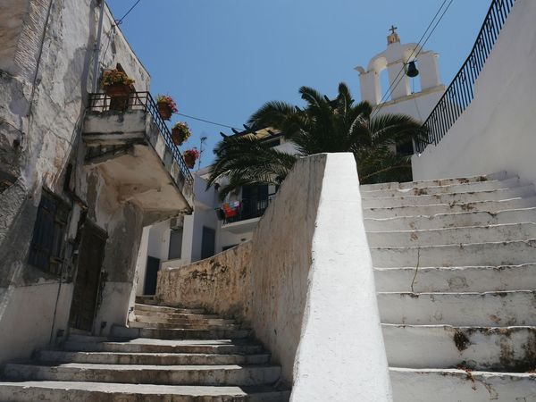 Stairways at old town Naxos