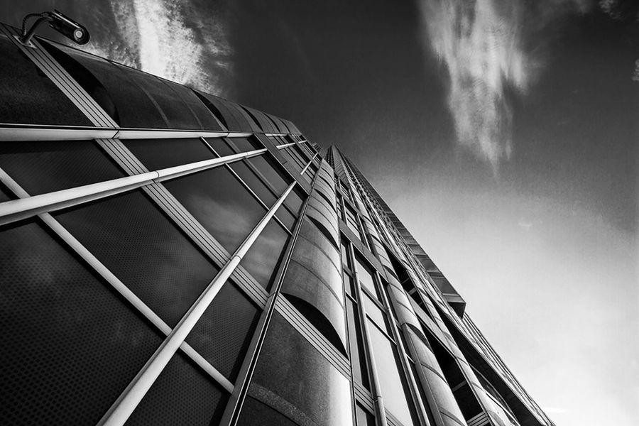 Architektur Blackandwhite Messeturm Sky