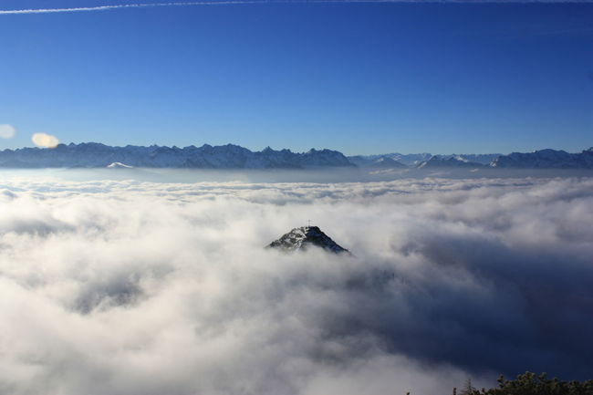 Bavarian Alps Beauty In Nature Blue Cloud - Sky Day Mountain Nature No People Outdoors Scenics Sky Tranquility Upper Bavaria