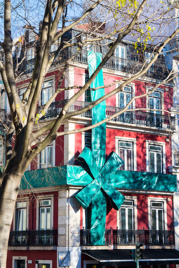 Decoration Exterior Gift Home House Present Urban Urban Landscape Wrapping