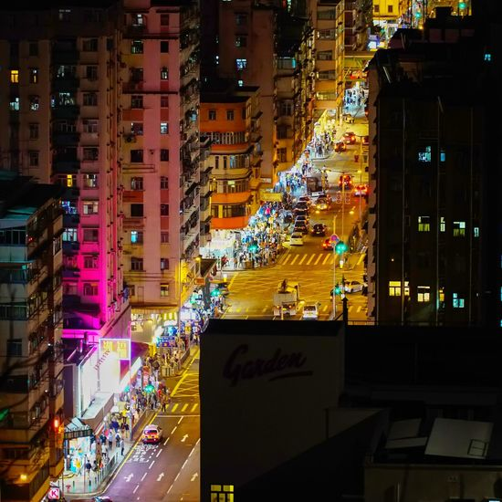 Sham Shui Po Hong Kong ASIA Night City Cityscape Illuminated Multi Colored Neon City Life Architecture Built Structure Building Exterior Downtown District Yellow Taxi China World Trade Center China Central Television Urban Skyline Skyscraper Office Building Office Building Exterior Cctv Headquarters High Rise Building Story Chicago - Illinois Digital Signage Broadway - Manhattan Times Square - Manhattan Infrastructure City Location