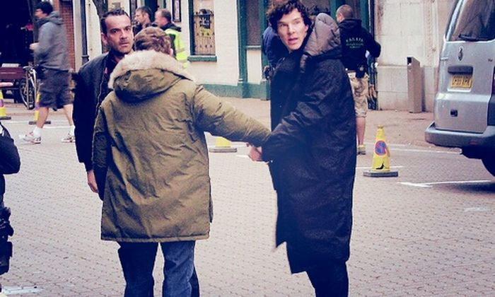 Benedict Cumberbatch Martin Johnlock