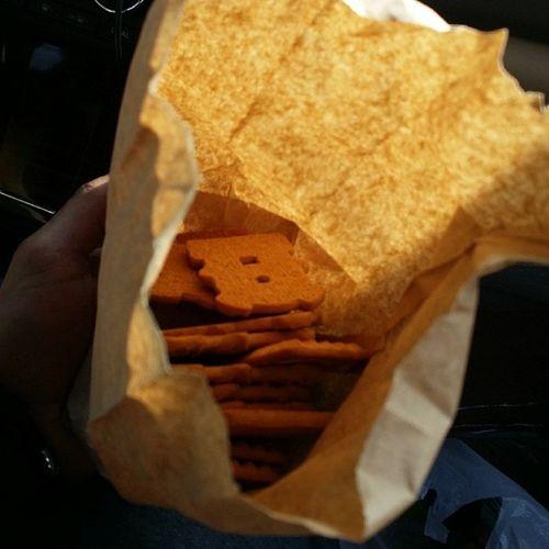 Cookies in the paper bag! CountryBoyIsh Bucktown Brinkley MissGrays 105WestWillow