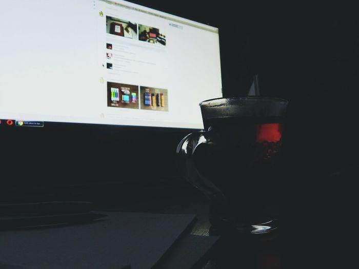 Evening Work Learn Tea