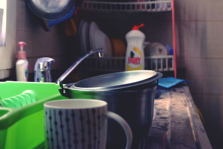 Emptied stomach Indoors  Cup Domestic Room Kitchen Utensil No People Table Close-up Household Equipment Home Interior Kitchen Container Mug First Eyeem Photo EyeEmNewHere