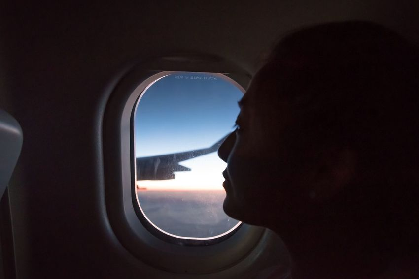 Traveling Home For The Holidays Going Home Flight Aeroplane Window Aeroplane Flying Excited Holiday Window Looking Through Window Travel