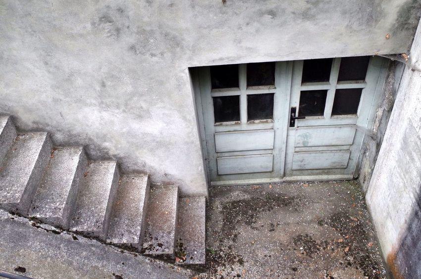 Doors to hell. Dachau Dachau